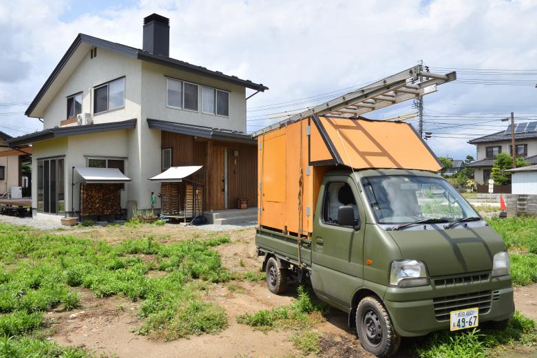 災害の影響が色濃く残る北軽井沢から長野への道