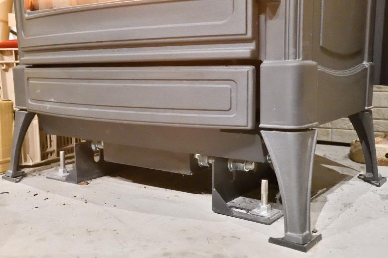 ネスターマーティン専用耐震装置(S・Hシリーズ用)での施工事例