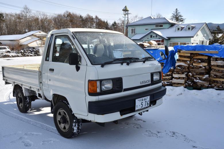 ライトエーストラックが北軽井沢店に到着