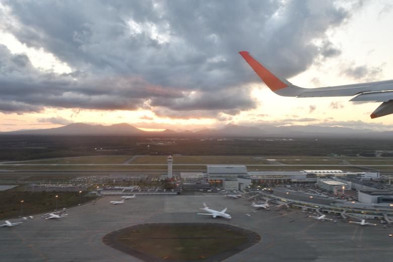 無事に成田空港へ戻ってきた