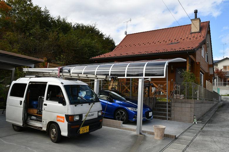 福島でアンコール赤の煙突掃除とメンテ